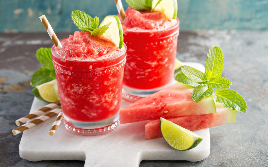 Refreshing Fruit & Herb Summer Slushies