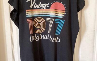 Convert an Oversized T-shirt into a Shirtdress